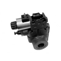 RQM*-W - Solenoid operated pressure relief valve with unloading and pressure selection
