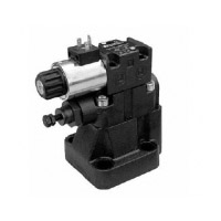 RQM*-P - Solenoid operated pressure relief valve with unloading and pressure selection