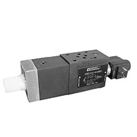 RLM3-Electric fast/slow speed selection valve ISO 4401-03 (CETOP 03)
