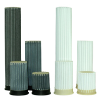 Pleated rod filters